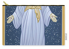 Carry-all Pouch featuring the painting Mother Of God Of Akita- Our Lady Of The Snows 115 by William Hart McNichols