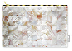 Mother Of Pearl Carry-all Pouch by Uma Gokhale