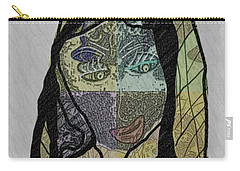 Mother Teresa  Never Forget Carry-all Pouch by Ann Calvo
