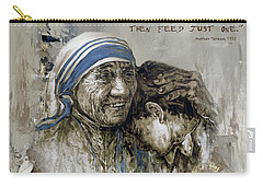 Mother Teresa Portrait  Carry-all Pouch
