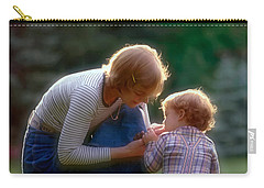 Mother With Kid Carry-all Pouch
