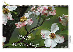 Mother's Day Dogwood Carry-all Pouch by Douglas Stucky