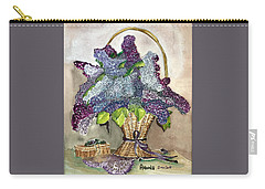 Mothers Day Lilacs Carry-all Pouch