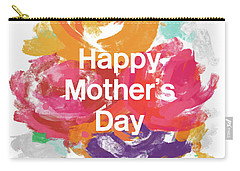 Mother's Day Roses- Art By Linda Woods Carry-all Pouch by Linda Woods