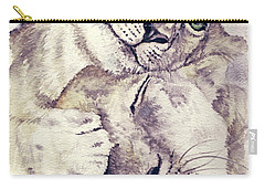 Mothers Love Carry-all Pouch by Alban Dizdari