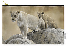 Mothers Overlook Carry-all Pouch by Steve McKinzie