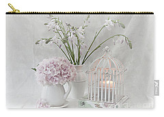 Mother...tell Me Your Memories Carry-all Pouch by Sherry Hallemeier