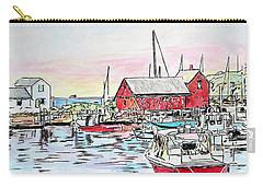 Motif #1 Rockport, Massachusetts Carry-all Pouch