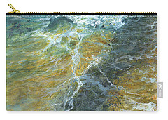 Carry-all Pouch featuring the painting Motion Of The Ocean by Darice Machel McGuire