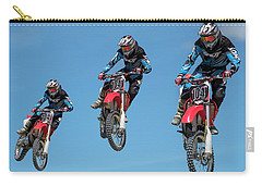 Motocross Riders Carry-all Pouch