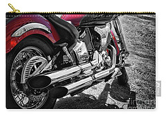 Motorbike From Yamaha Carry-all Pouch by Stephan Grixti