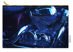 Motorcycle Honda File Carry-all Pouch by Suzanne Powers
