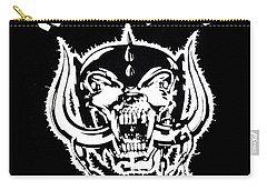 Carry-all Pouch featuring the digital art Motorhead by Gina Dsgn