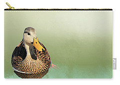 Mottled Duck Reflection Carry-all Pouch