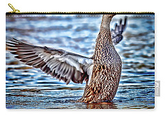 Mottled Duck Takeoff Carry-all Pouch