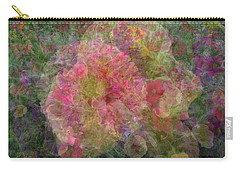 Mottled Pink Collage Pop Carry-all Pouch