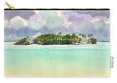 Motu Rapota, Aitutaki, Cook Islands, South Pacific Carry-all Pouch