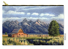 Moulton Barn At The Grand Tetons Carry-all Pouch