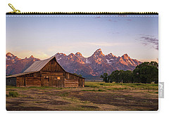 Moulton Barn Sunrise Carry-all Pouch by Serge Skiba