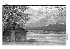 Carry-all Pouch featuring the photograph Moulton Homestead - Granary by Colleen Coccia