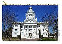 Moultrie Courthouse Carry-all Pouch by Carla Parris
