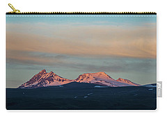 Mount Aragats, The Highest Mountain Of Armenia, At Sunset Under Beautiful Clouds Carry-all Pouch