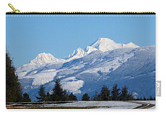 Mount Baker From Farm-to-market Road Carry-all Pouch