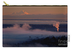 Mount Baker In The Distance Carry-all Pouch by Mike Reid