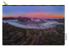 Mount Bromo Misty Sunrise Carry-all Pouch