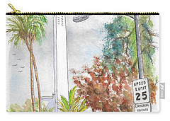Mount Calvary Lutheran Church, Beverly Hills, California Carry-all Pouch