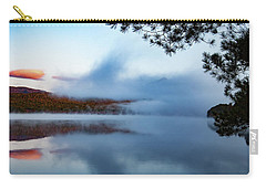 Carry-all Pouch featuring the photograph Mount Chocorua Peeks Above The Fog by Jeff Folger