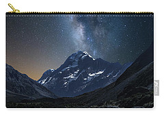 Mount Cook At Night Carry-all Pouch