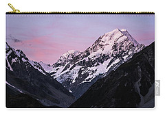 Mount Cook Sunset Carry-all Pouch