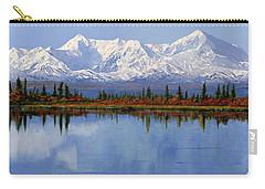 mount Denali in Alaska Carry-all Pouch