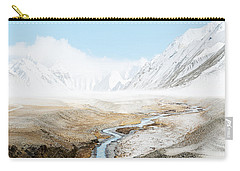 Carry-all Pouch featuring the photograph Mount Everest  by Setsiri Silapasuwanchai