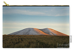 Mount Gutanasar In Front Of Wheat Field At Sunset, Armenia Carry-all Pouch