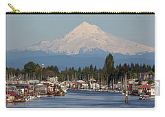 Mount Hood And Columbia River House Boats Carry-all Pouch