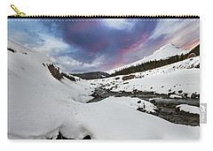 Mount Hood In Winter Carry-all Pouch