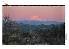 Mount Hood Over Happy Valley Oregon Carry-all Pouch
