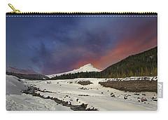 Mount Hood Winter Wonderland Carry-all Pouch