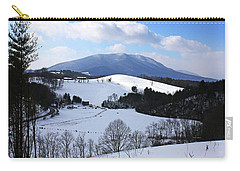 Mount Jefferson Winter Carry-all Pouch