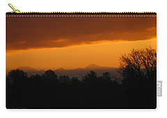 Carry-all Pouch featuring the photograph Mount Lassen 03 01 11 by Joyce Dickens