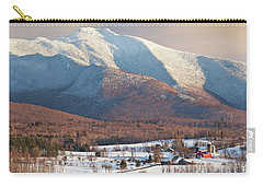 Mount Mansfield Winter Afternoon Carry-all Pouch