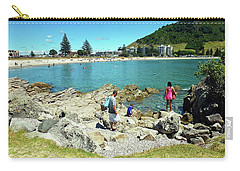 Mount Maunganui Beach 12 - Tauranga New Zealand Carry-all Pouch