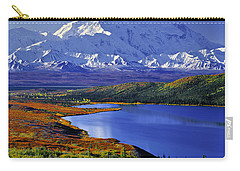 Mount Mckinley And Wonder Lake Campground In The Fall Carry-all Pouch