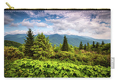 Mount Mitchell Asheville Nc Blue Ridge Parkway Mountains Landscape Carry-all Pouch
