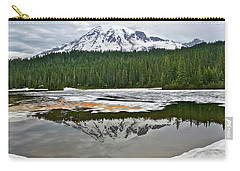 Mount Rainier From Reflection Lakes Carry-all Pouch
