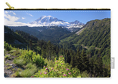 Mount Rainier From Scenic Viewpoint Carry-all Pouch