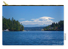 Mount Rainier Lenticular Carry-all Pouch by Sean Griffin