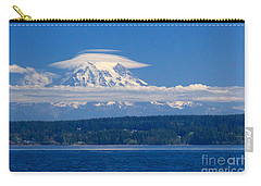 Mount Rainier Carry-all Pouch by Sean Griffin